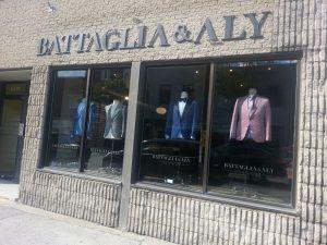 Battaglia & Aly vêtements d'homme