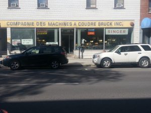 Machine a coudre Bruck inc
