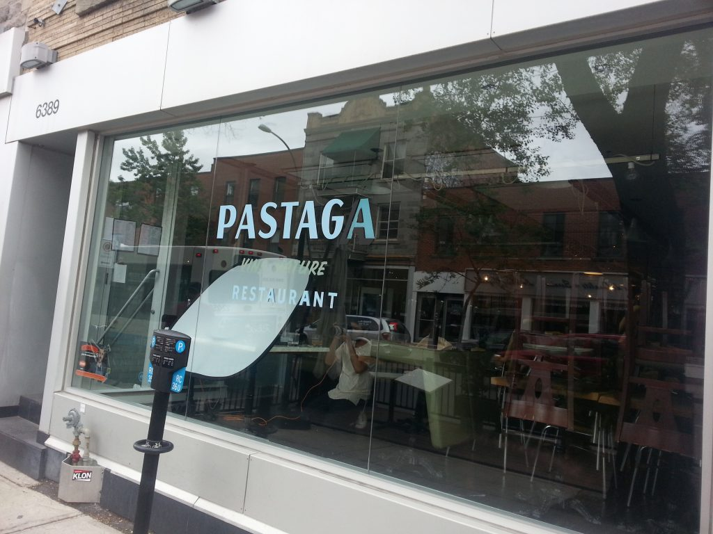 Pastaga vintage restaurant furniture