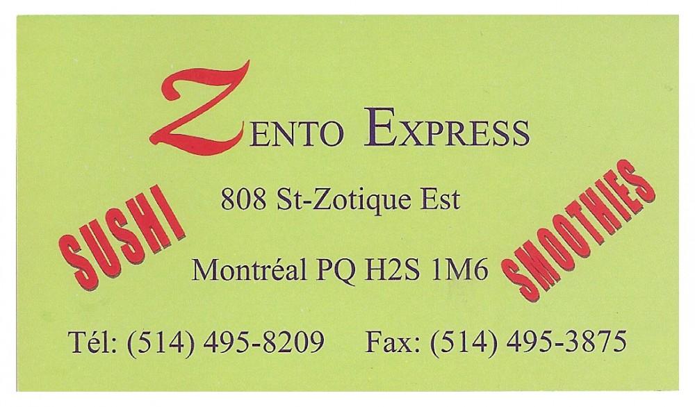 ZENTO EXPRESS-SUSHI
