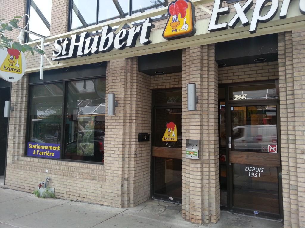 ST HUBERT BBQ
