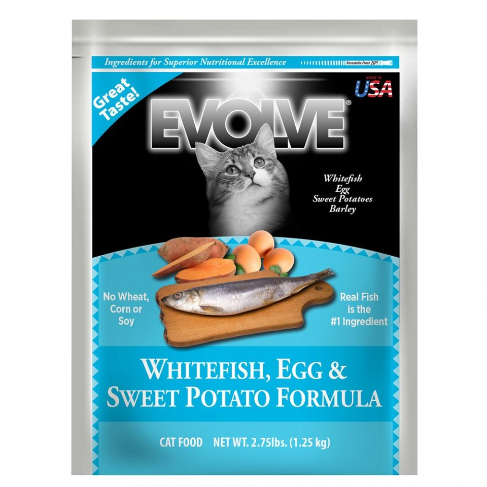 Whitefish, Egg & Sweet Potato Formula Cat Food