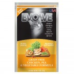 Evolve Grain Free Chicken, Pea & Vegetable Cat Food
