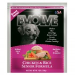 Evolve Chicken & Rice Senior Formula Dog Food