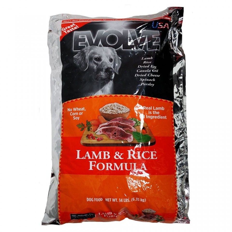 Evolve Lamb & Rice Formula Dog Food
