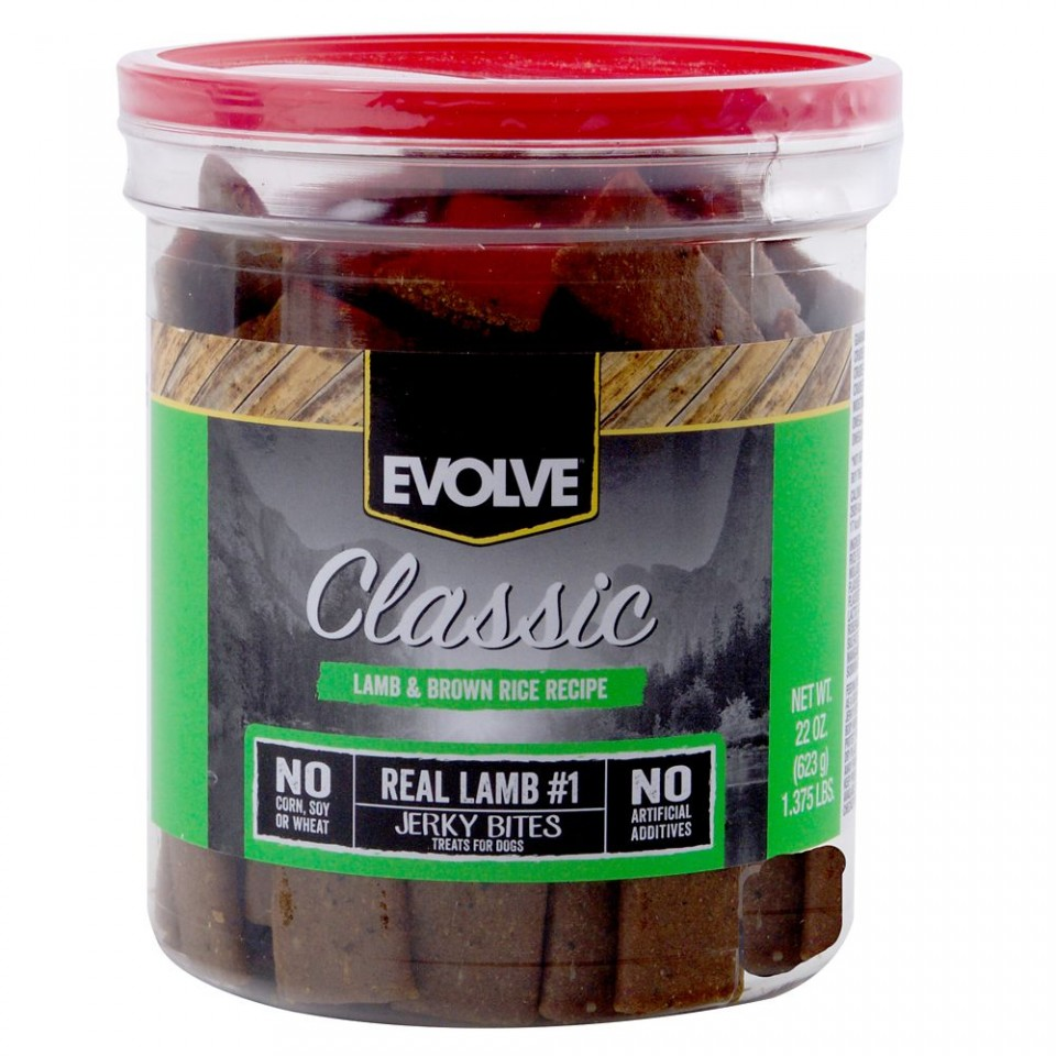 Evolve Lamb & Rice Jerky Treats