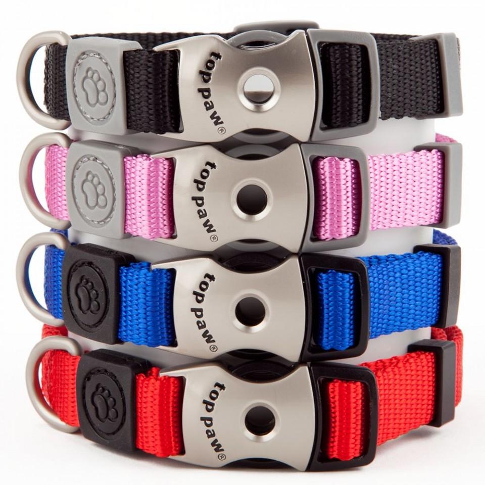 Top Paw Signature Adjustable Dog Collar